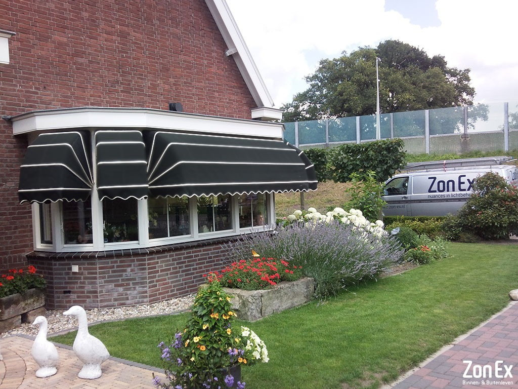 Markiezen zonwering Enschede ZonEx