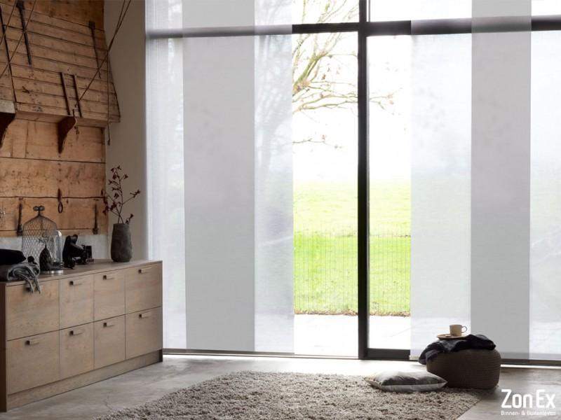 Bekend Maak grote ramen bijzonder met paneelgordijnen | Creëer zelf! MO35
