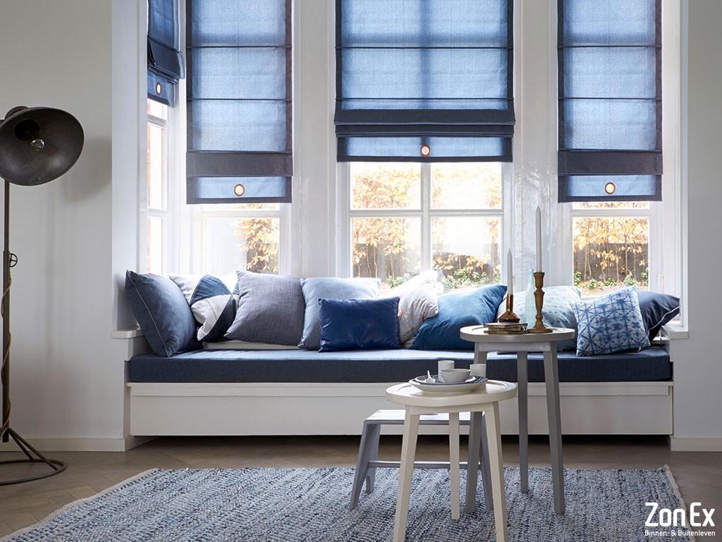 Raam Gordijn 11 : Lastige raampartijen bekijk welke zonwering bij uw raam past