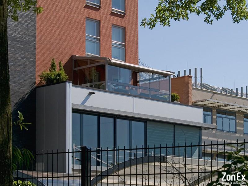 Balkonbeglazing-schuifwand