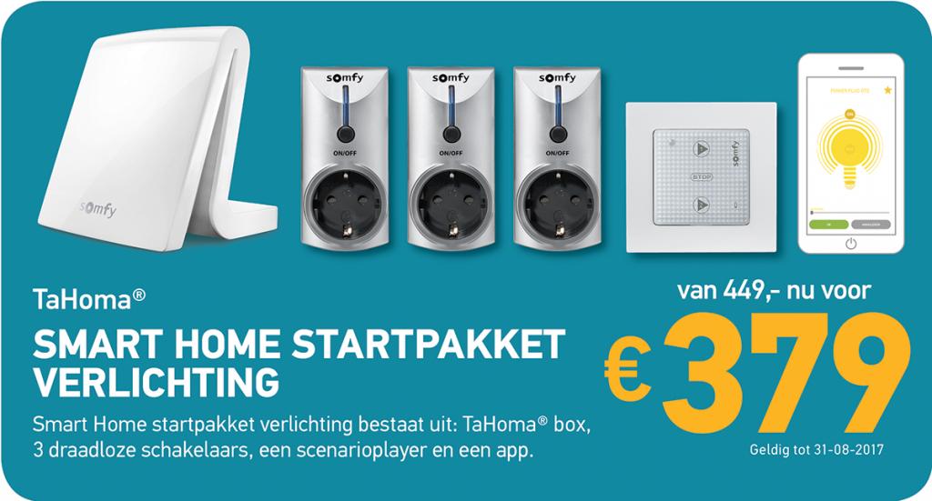 Somfy Startpakket ZonEx Aanbieding